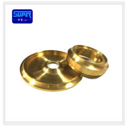 カスタマイズされた真鍮の精密機械部品の機械で造り、回り、そして製粉するCNC