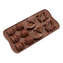 Molde de silicona molde Bakeware personalizado para la promoción de regalos