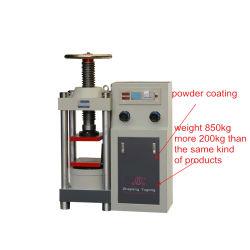Het Testen van de Compressie van de digitale Vertoning Hydraulische Machine