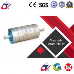 Grupo Gaogong Rare Earth separador magnético de rodillo / la polea de mineral de estaño