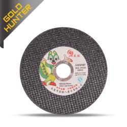 قرص القطع 105/125/150/180/230 مم شفرة معززة لقطع الألياف للجلاخة Angle Grinder من الفولاذ المقاوم للصدأ عجلة القطع المعدنية