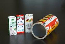 Жидких продуктов пакет в картонной упаковке цвета печатаются кирпича Pack