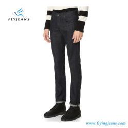 Новый стиль Slim-Straight Denim Джинсы для мужчин для полетов в джинсах