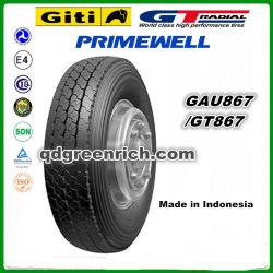 Giti/ Gt / Radial Primewell /Doublecoin/Linglong Trianlge / / pneu pour camion Radial Chengshan 295/80R22.5 275/80R22.5 Gau876 Chariot pneumatique