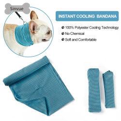 Chat Chien de la glace de la bande de glace Anti-Heat Cool cou Pet collier de refroidissement pour les chiens