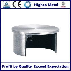 Design de encaixe do tubo de aço inoxidável para 42.4mm tampa do tubo com fenda