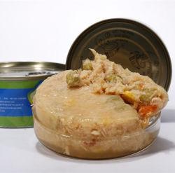 Chicken&Sabor vegetais enlatados para gatos animais de conservas