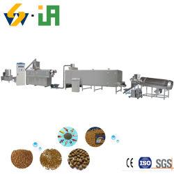 На заводе поставщика приложений с плавающей запятой Пэт рыбных продуктов питания машины Китая коммерческого промышленного производства рыбных продуктов бумагоделательной машины с плавающей запятой рыб и зажигания