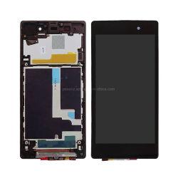 Visor de LCD do telefone para Sony Xperia Z1 Visor LCD concluída