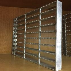 La barra de torsión de serrada rejilla de acero rejilla para pisos