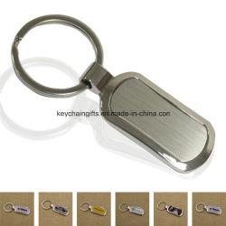 Custom Günstigsten Schlüsselanhänger Werbe Metall Schlüsselanhänger Vernickelt Schlüssel Ring blank Zink-Legierung Schlüsselanhänger mit Marke Epoxy Logo