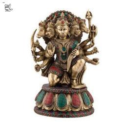 Dieu hindou de statues à percevoir l'Inde Sculpture en bronze-64