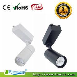 店のSupermaketの記憶装置のための2/3/4のワイヤーDimmable LEDトラック点ライト15W 20W 30W