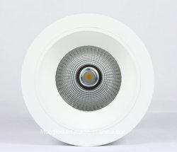 ÉPI rond Downlight du support DEL de surface du fini blanc 25W 30W