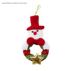 Venda por grosso de embarcações de Natal de pelúcia Plush Travando Santa Claus Doll Ornament