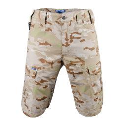 9 couleurs Sports de plein air Multi-Pockets Campingtactical chasse pantalon court pour hommes