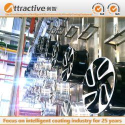 Peinture par pulvérisation Revêtement en poudre du système de ligne de production de la machine pour les pièces automobiles
