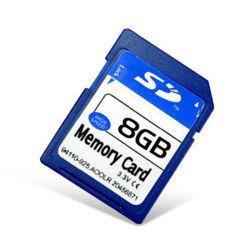 OEM de alta velocidad de 8GB 16GB 32 GB en tarjeta SD de la cámara digital