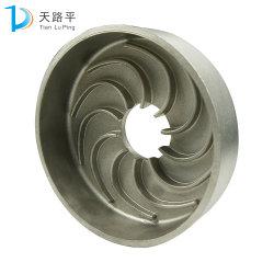 La coutume de la cire perdue des turbines de la pompe en acier moulé avec la peinture