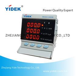 Écran LED Yidek 100~560V Compteur de collecte de renseignements de qualité de puissance