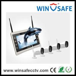 2.0MP IP Système d'alarme de sécurité à domicile sans fil WiFi Kits NVR