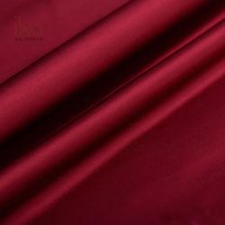Толщиной 40мм 100% шелк Charmeuse женщины платье роскошные ткани с блестящей поверхностью Атласная белая плакатная бумага с текстурированной поверхностью