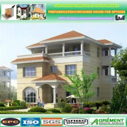 Apartamento de bajo coste prefabricados modulares estilo plegable de la casa de la Energía Solar Powered prefabricados casas y Casa Contenedor integrado en paquete plano y están decoradas