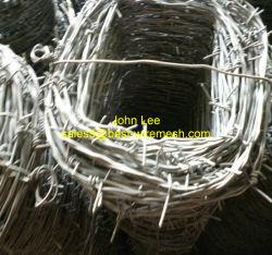 Recubierto de PVC galvanizado o alambre de púas