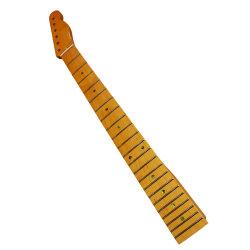 Tl/ST Cou de guitare électrique avec le millésime de peinture jaune