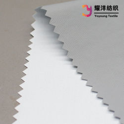 Tissu Hipora 228t 100 % nylon Taslan Tissu imperméable avec revêtement PU laiteuse