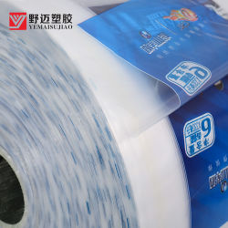 Het plastic LDPE Verpakkende Materiaal van de Krimpfolie van de Omslag van de Rek voor het Water van de Fles