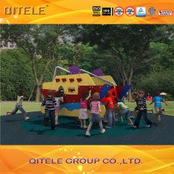 創造的なデザイン小型子供のスライドの子供の楽園の屋外の運動場セット