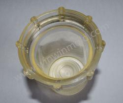 糸のプラスチック注入型が付いているTPEの医学のプラスチック明確なコップ