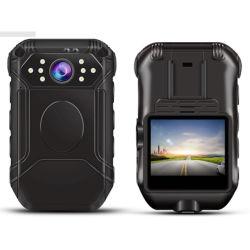 Volle HD1080p Polizei-Karosserie getragene Kamera mit MiniNachtsicht-Audios-Wechselsprechanlage der Videokamera-140 Weitwinkel