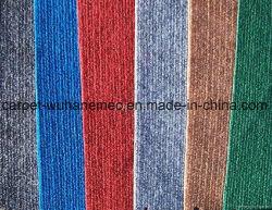 Nichtgewebte Nadel lochte die Polyeaster Faser Einzeln-Rippe, die Teppich für die Anwendung des Hauses, Ausstellung-Messe ausbreitend angepasst wurde