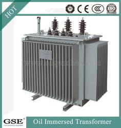 -3 hautes performances de la phase d'énergie électrique de l'enregistrement transformateur de distribution de puissance