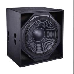 La Cvr Pro Audio 21inch +avec caisson de basses Bass chargé d'avertisseur sonore