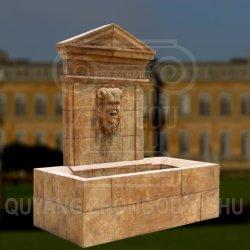 Fontana di parete di scultura di pietra dell'acqua del marmo dell'oggetto d'antiquariato della decorazione del giardino