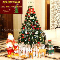 Shopping Mall en Home gebruik kerstboom Vader Kerst Decoratie