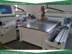Cnc-Holzbearbeitung-Maschinerie mit Drehmittellinie