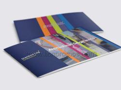 Folheto de impressão personalizado serviço de impressão de folhetos de embalagem