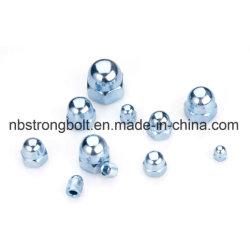 Высокое качество один тип углеродистой стали DIN1587 болты с шестигранной головкой куполообразную крышку гайки