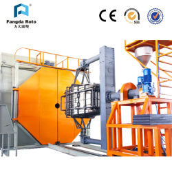 Fangda Roto 셔틀 Rotomolding Machine with Two Arms(두 개의 암이 있는 Rotomolding Machine)