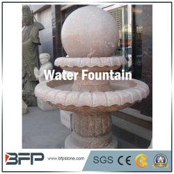 Fontana/palla d'acqua in granito naturale/marmo per costruzioni