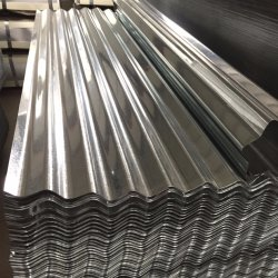 Bobine de tôle en acier zingué de plaine d'acier galvanisé Feuille de toit