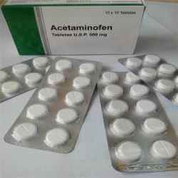 GMP OEM Tablet 500mg Paracetamol Tablet