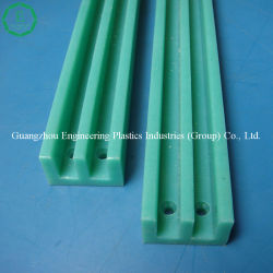 Hot Sale CNC Rail de guidage en plastique polyéthylène UHMW le rail de guidage
