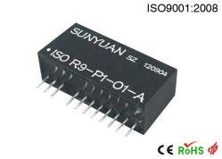0-500ohm de 4-20 mA/0-5 V/amplificador del acondicionador de Señal 0-10V