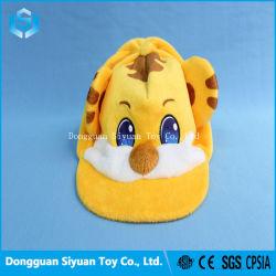 Haute qualité d'animaux en peluche Tiger Soft Cap pour les enfants Les enfants