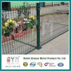 Cancha de tenis de cerco de malla de alambre de aluminio recubierto de PVC'V Pulsa valla